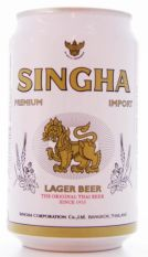 Singha Lager Beer Premium Import