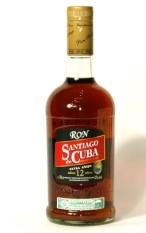 Ron Santiago de Cuba Extra Añejo 12y